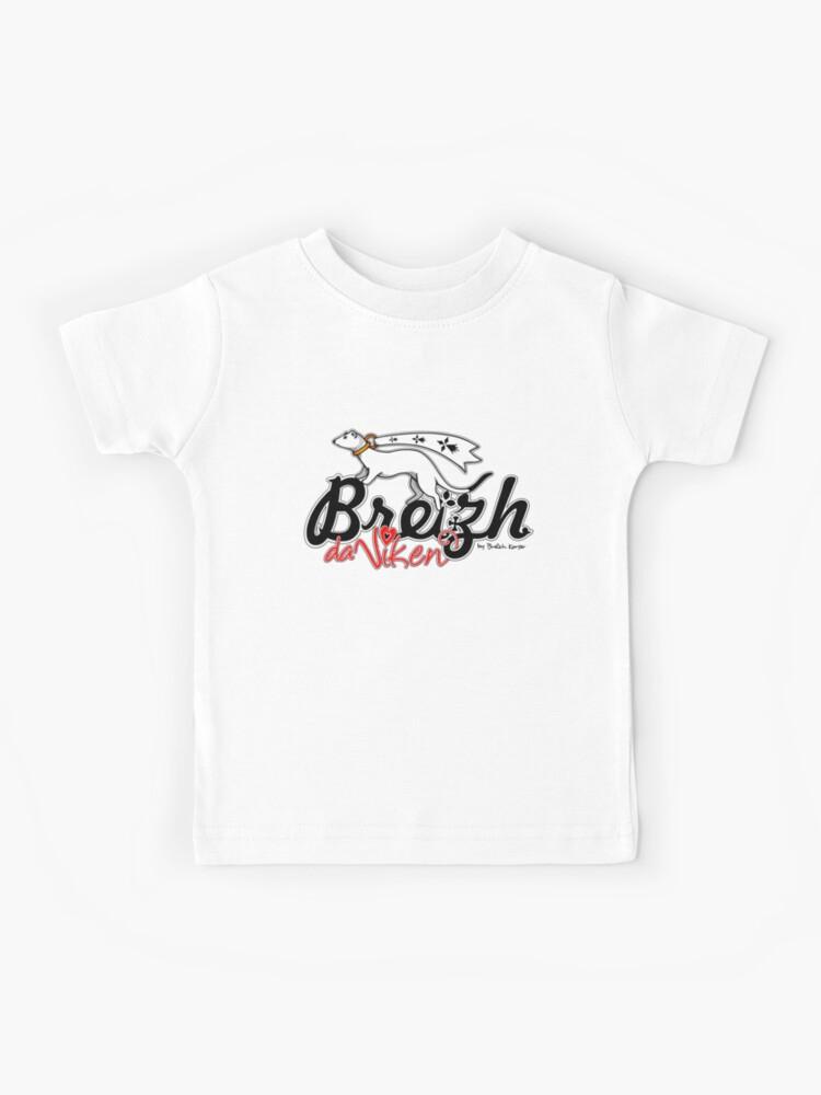 Breizh Da Viken Kids T Shirt By Breizh Korser Redbubble
