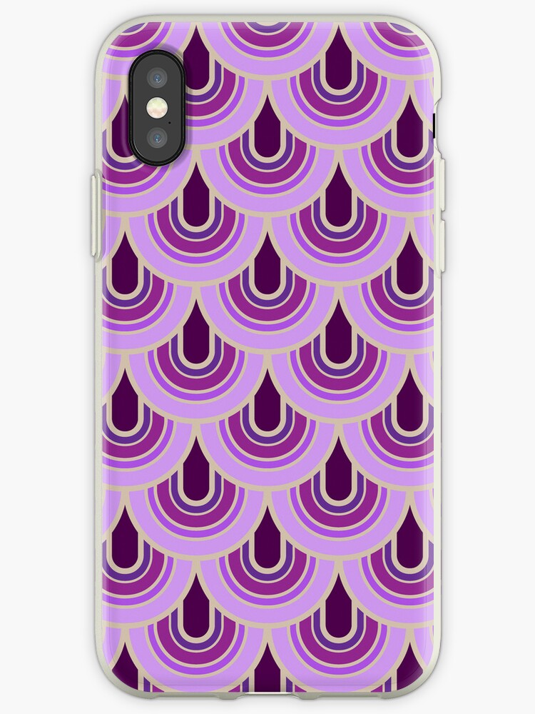 Case seamless retro pattern by MEDUSA GraphicART