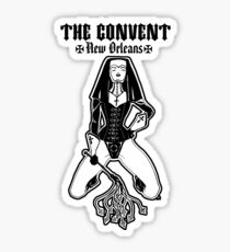 The Convent New Orleans Sticker Sticker