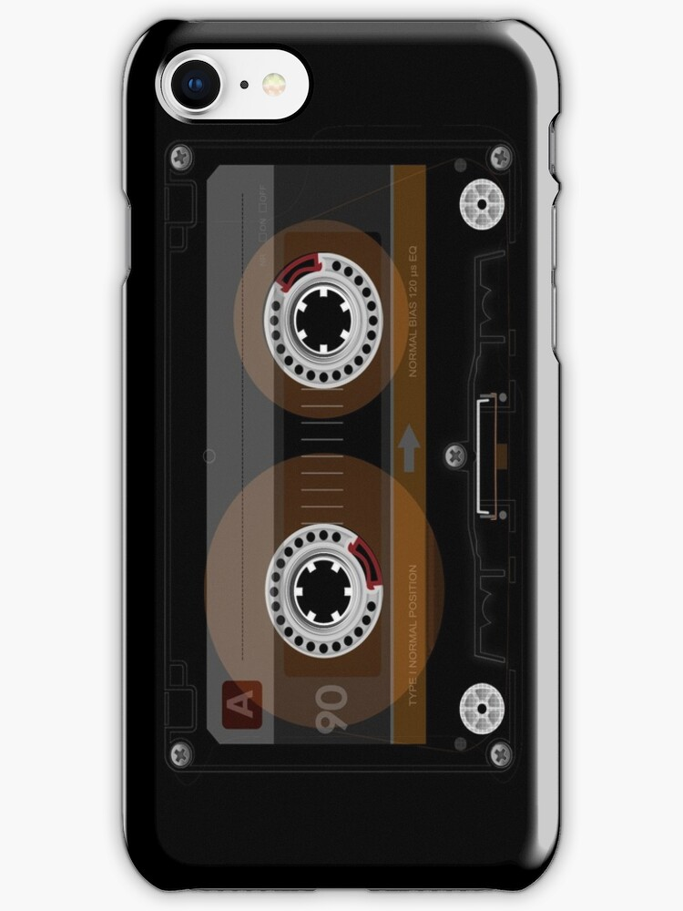 Retro Music Cassette Tape by CroDesign