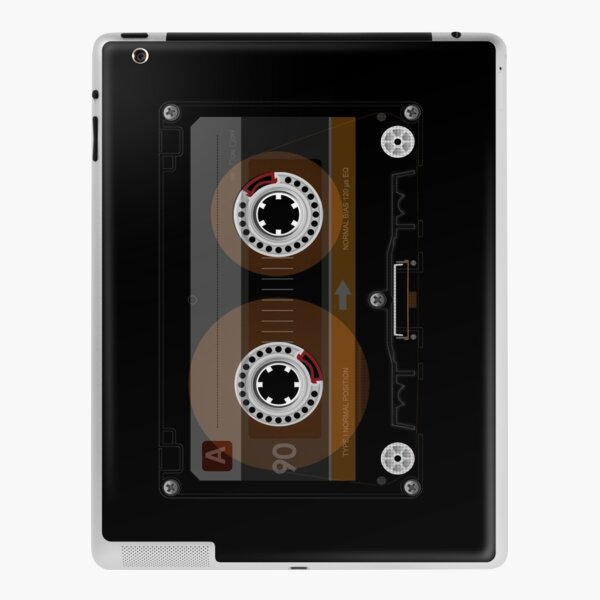 Retro Music Cassette Tape iPad Skin