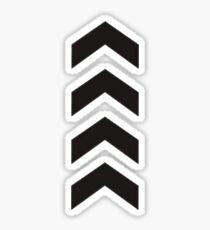 Liam Payne Arrow Tattoo Sticker