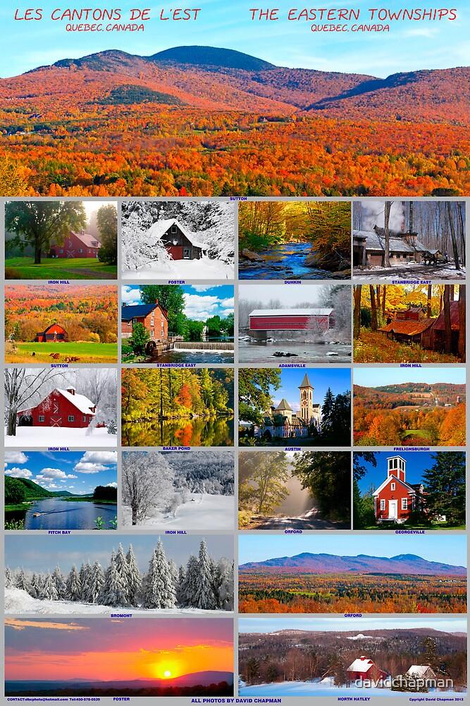 Eastern Townships Quebec Canada by davidchapman