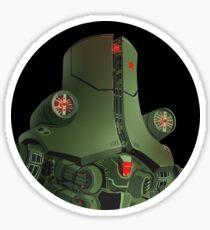 Pacific Rim Cherno Alpha bust Sticker