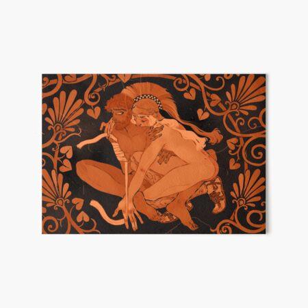 Achilles and Patroclus Art Board Print