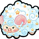 Sheep - Simply Vanilla by mechbunnies