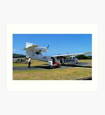 Lima Gulf Romeo, Tri Islander, Great Barrier Airlines........! Art Print