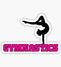 Gymnastics with Gymnast Sticker