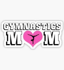 Gymnastics Mom Sticker