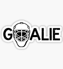 Hockey Goalie Stickers Redbubble