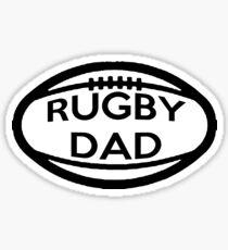 Rugby Dad Sticker