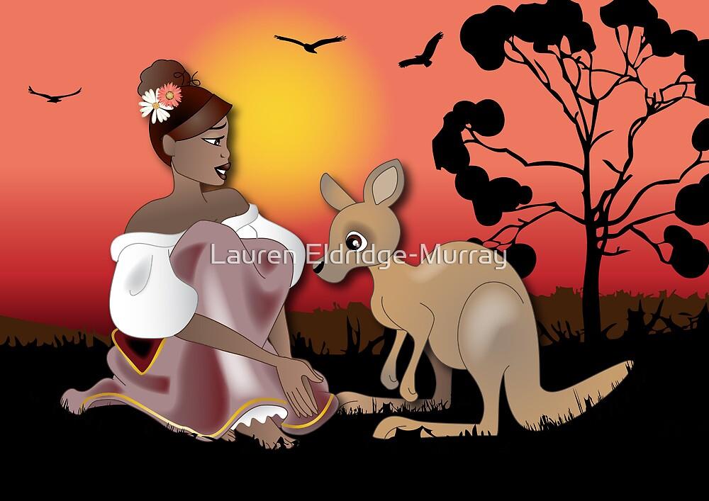 Twisted - Wild Tales: Arinya and the Kangaroo by Lauren Eldridge-Murray