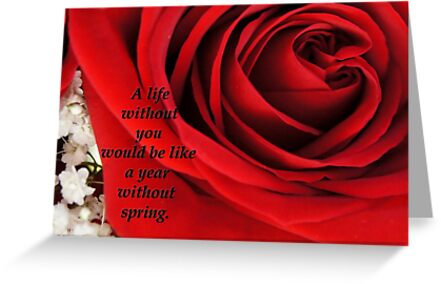 Romantic Love Card 1 by Offshoots12