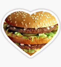 The Burger Life Sticker