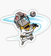 Minion Luke sticker Sticker