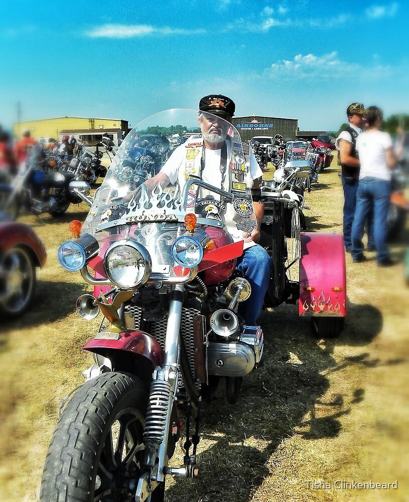 Memorial Day Rider by Tisha Clinkenbeard