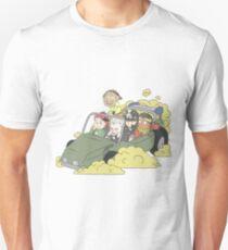 Stardust Crusaders on Car Unisex T-Shirt