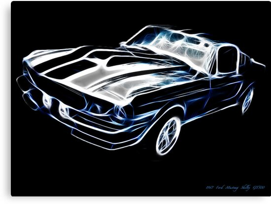 1967 ford mustang shelby gt500 by lord isted