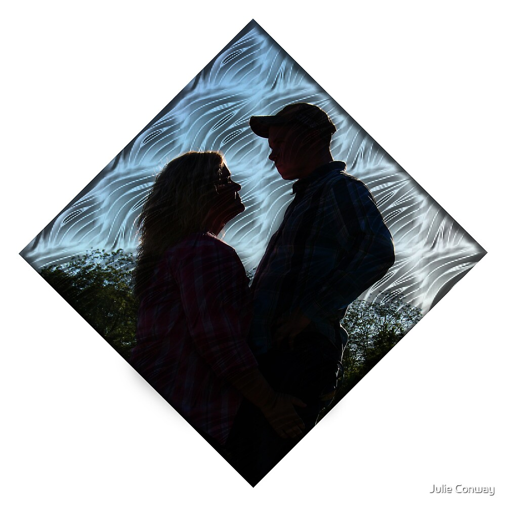"""Country Love Story... """"Sun-Catcher""""  by Julie Conway"""