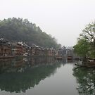 Quiet Morning in Fenghuang Old County  by rainyan