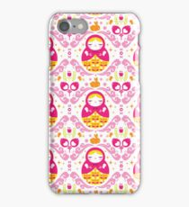 babooshka doll iPhone Case/Skin