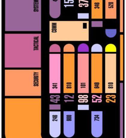 Star Trek Computer Panel Sticker