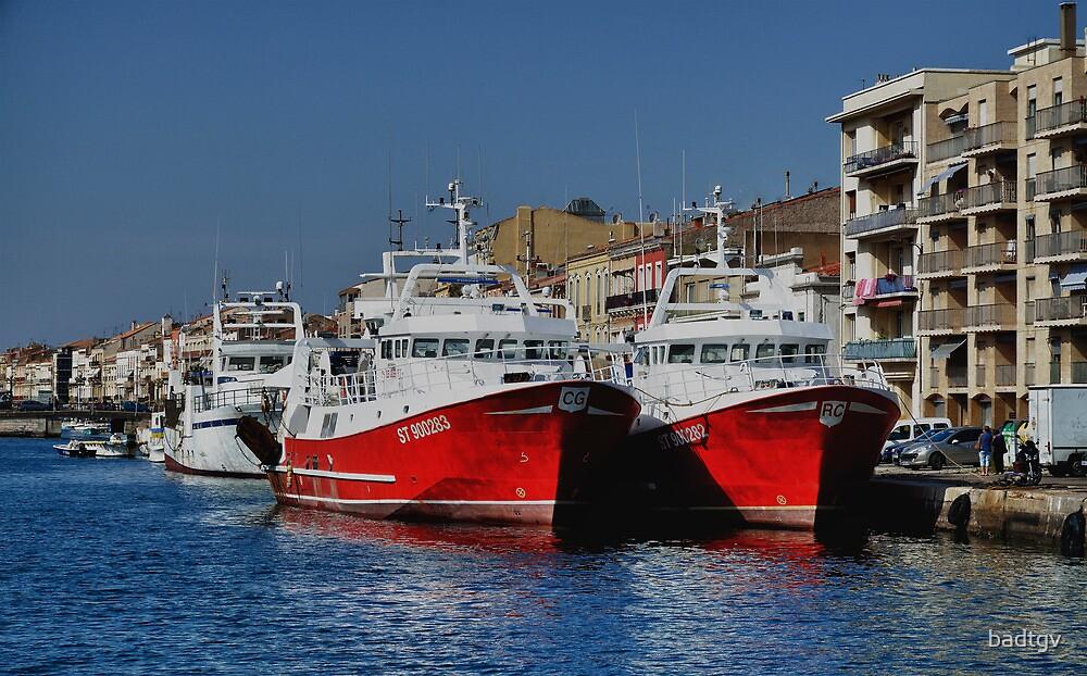 bateaux port de  Sete by badtgv