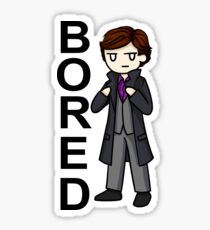 Bored Sticker