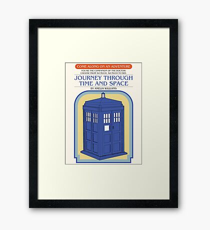Come Along on an Adventure Framed Print