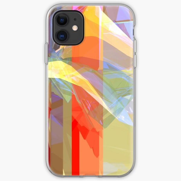 Sunlight Through Curtains (intense) iPhone Soft Case