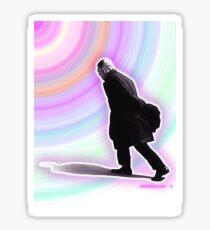 Sartre Walking - 2 Sticker