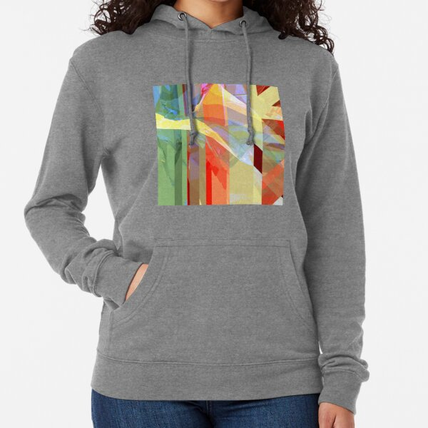 Sunlight Through Curtains (intense) Lightweight Hoodie