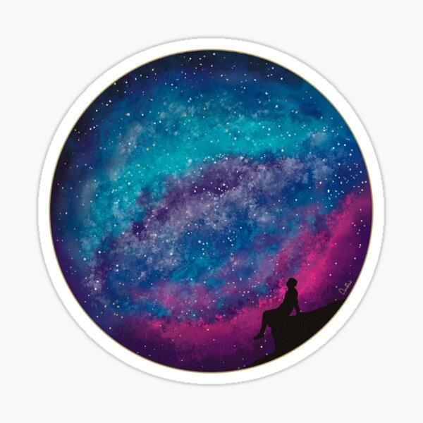 The power of the universe by Annalisa Amato Sticker