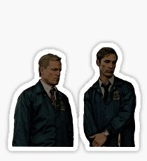 True Detective - Cohle and Hart Sticker