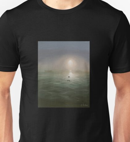 Seagulls in the mist T-Shirt