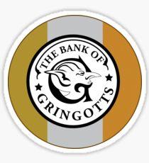 Gringotts Bank_Round Sticker