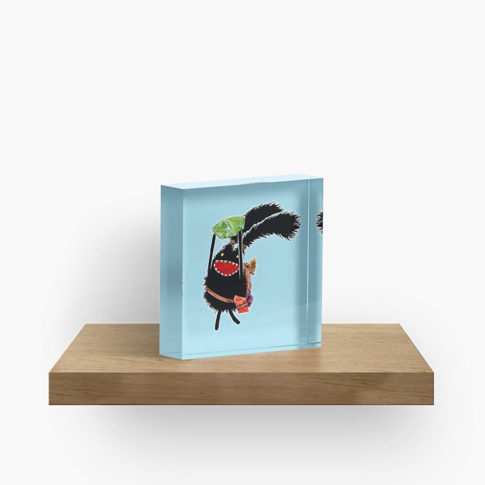 Excited Spriggan Acrylic Block