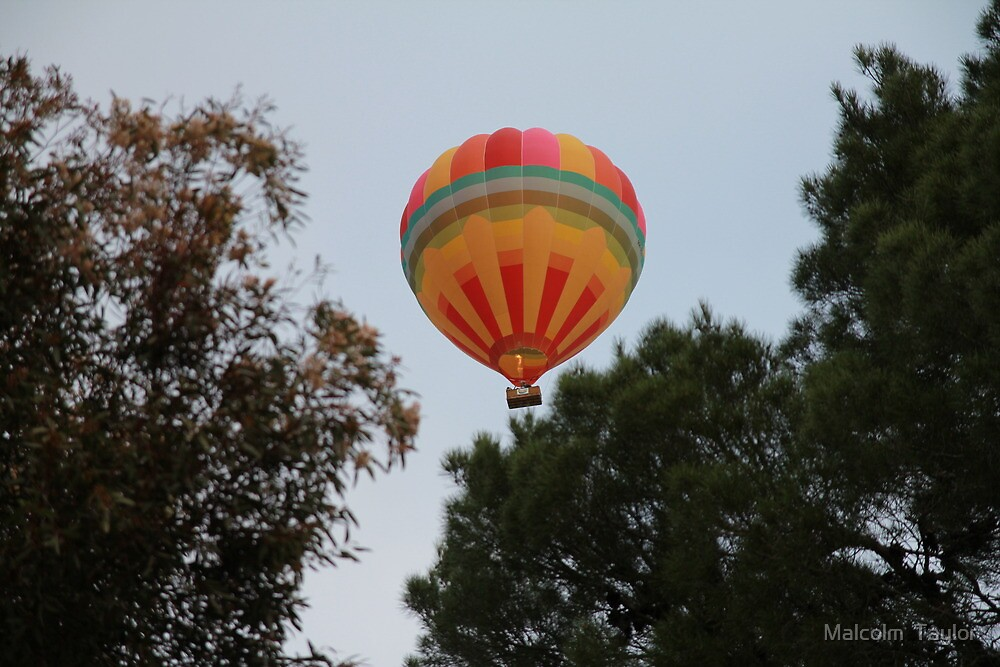 Up Up and away by Malcolm  Taylor