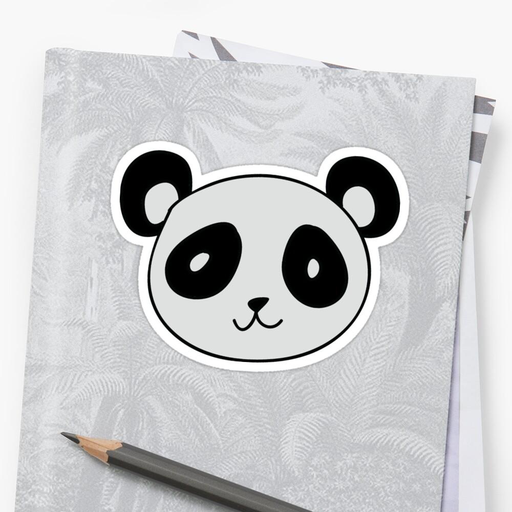 Cute Panda Face by SaradaBoru