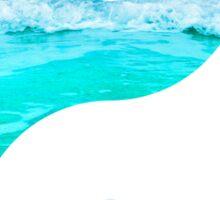 Yin & Yang (Aqua Water) Sticker