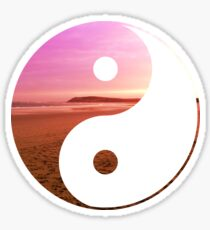Ocean Grove Yin & Yang Sticker