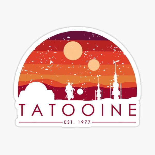 TAOOINE RETRO EST. 1977 Sticker
