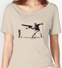 Yank and Banksy Women's Relaxed Fit T-Shirt