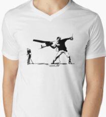 Yank and Banksy Men's V-Neck T-Shirt