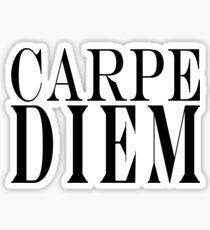 Famous Latin Quote : Carpe Diem  Sticker
