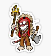 Indian cat (chat indien) Sticker