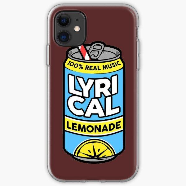 Lycrical Limonade 100% Real Music Funda blanda para iPhone