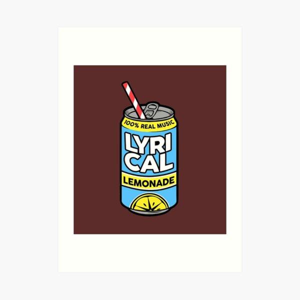 Lycrical Limonade 100% Real Music Art Print