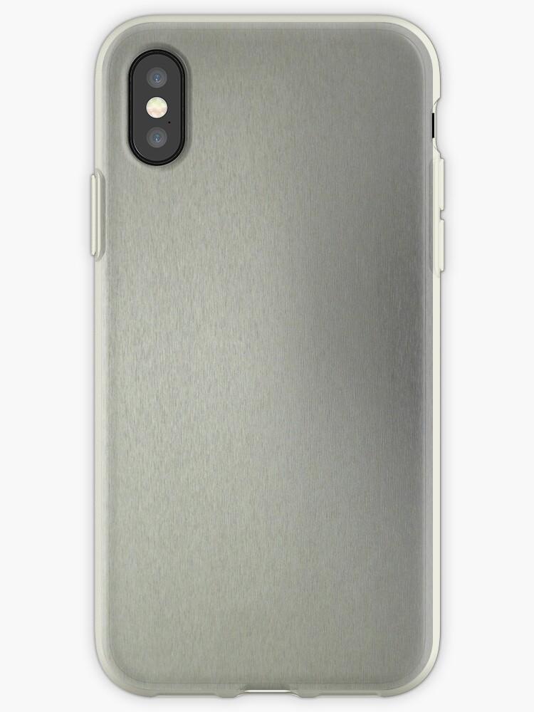 Brushed Aluminum iPhone 4/4s Case by jesse421