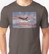 Avro Vulcan at Dawn Unisex T-Shirt